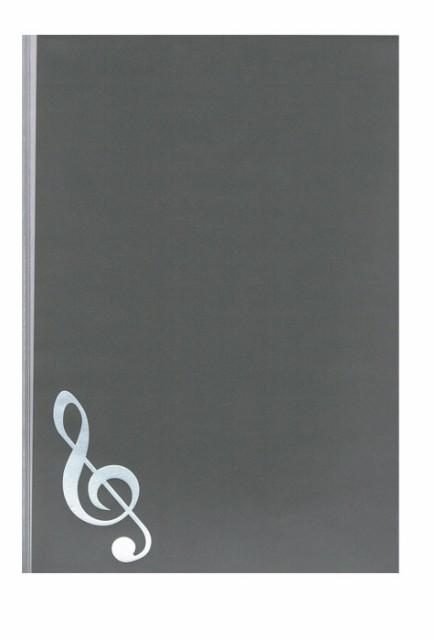 5シートクリアファイル 楽譜ファイル グランドピ...