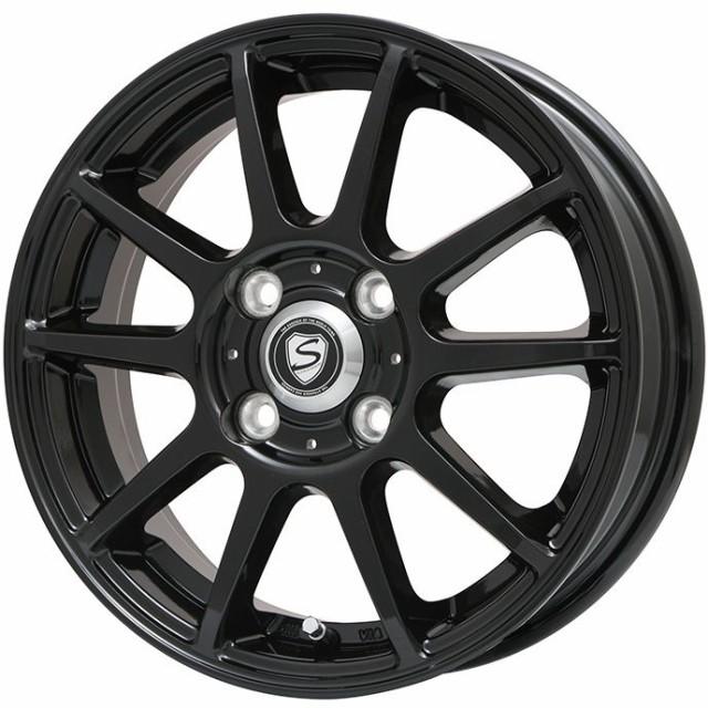165/60R15 15インチ カリテスS10 グロスブラック ...