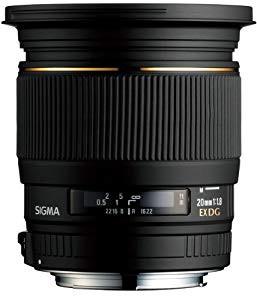SIGMA 単焦点広角レンズ 20mm F1.8 EX DG ASPHERI...