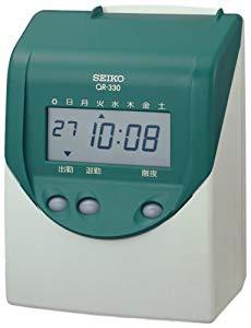 セイコープレシジョン タイムレコーダー QR-330(...