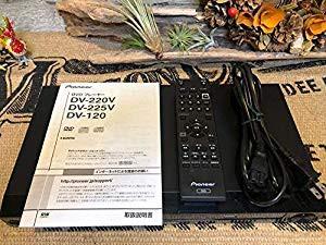 パイオニアDVDプレーヤー DV225V(中古品)