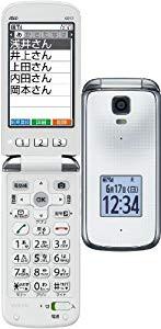簡単ケータイ K012 au [ホワイト](中古品)