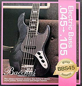 BACCHUS EB Strings BBS45 45-105 エレキベース弦...