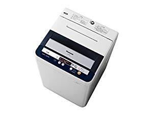 (中古品)パナソニック 4.5kg 全自動洗濯機 ブル...