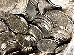 パチスロ用 25パイ メダル 1000枚(中古品)