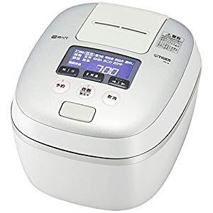 タイガー 圧力IH炊飯ジャー(1升炊き) ホワイト...