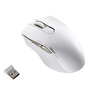 Digio2 無線 5ボタン Blue LED マウス オートスピ...