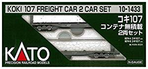 KATO Nゲージ コキ107 コンテナ無積載 2両セット ...