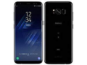 白ロム AU Galaxy S8 SCV36 Midnight Black(中古...