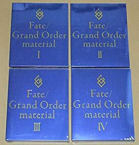 Fate Grand Order material ?T ?U ?V ?W 4冊セッ...