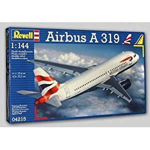 ドイツレベル 1/144 エアバス A319 04215 プラモ...