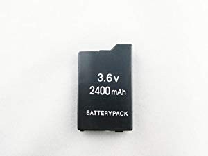 長持ち!大容量2400mAh!PSP2000/3000用 交換電池バ...