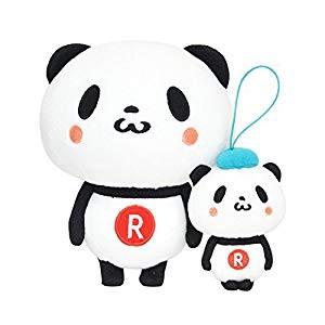 お買いものパンダ&小パンダ ぬいぐるみセット(未...