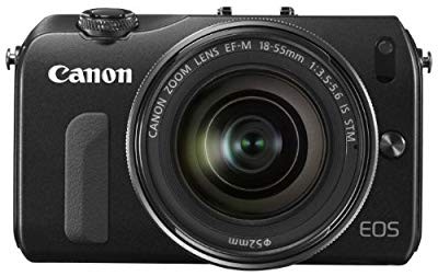【中古 良品】 Canon ミラーレス一眼カメラ EOS M...