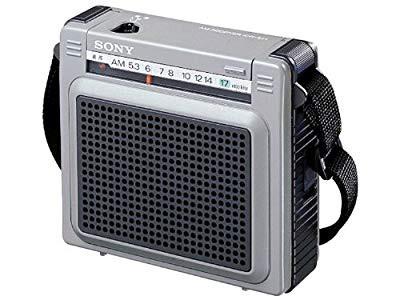 SONY AMワイドカバー ポータブルラジオ ICR-S71(...