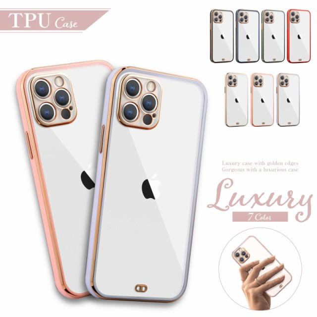 iPhone12 ケース バンパー かわいい 衝撃吸収 iPh...