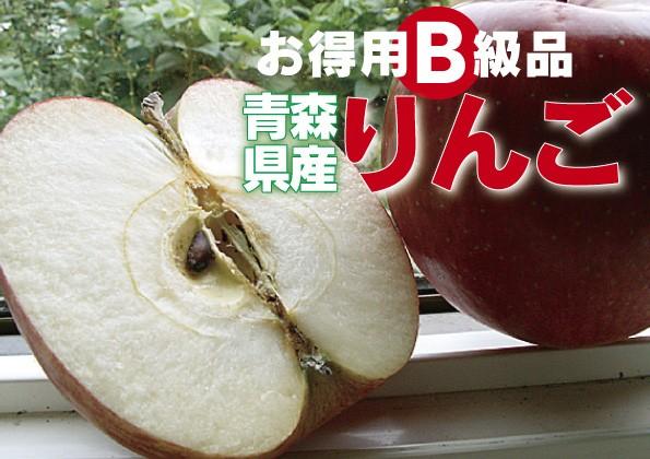 否バラ詰め 青森県産【B級品・ジョナゴールド・3k...