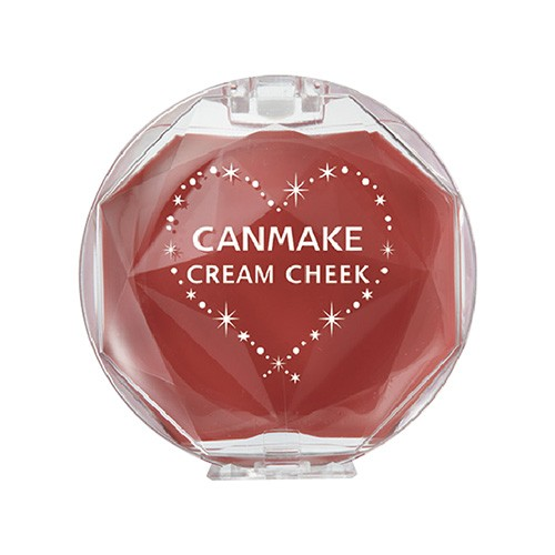 キャンメイク(CANMAKE) クリームチーク 16 アーモンドテラコッタ(1個)