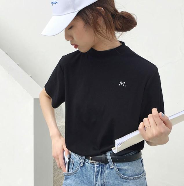 (取寄商品)Tシャツ 半袖 トップス ワンポイント...