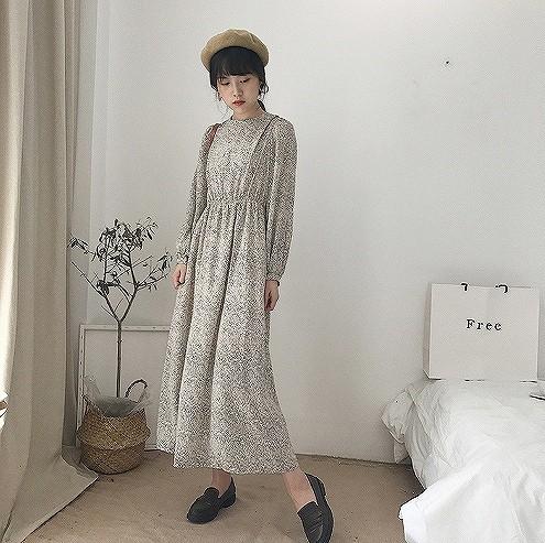 (取寄商品)ワンピース マキシ丈・ロング シフォン...