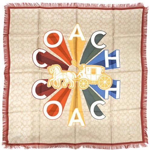 コーチ スカーフ F76438-LKH COACH コーチ ラディ...