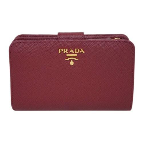 プラダ 財布 1ML225 PRADA L字ミディアムジッ...