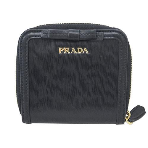 プラダ 財布 1ML522 PRADA 二つ折り ラウンドファ...