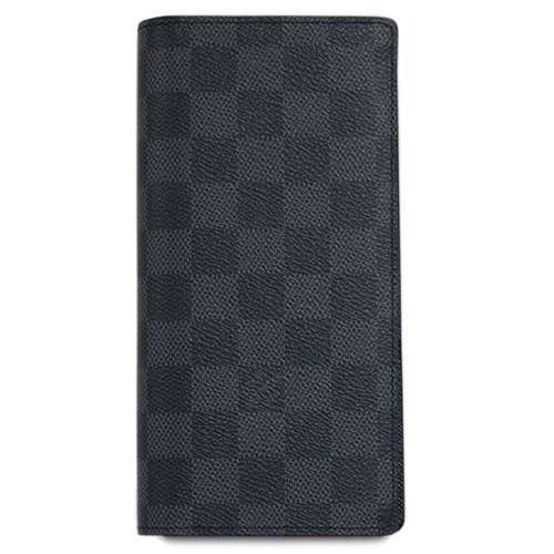 ルイヴィトン 財布 N62665 LOUIS VUITTON ヴィトン ダミエ・グラフィット LV メンズ ファスナー長札 ポルトフォイユ・ブラザ