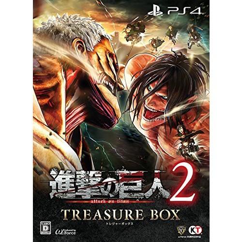中古 進撃の巨人2 TREASURE BOX (初回特典(エレン...