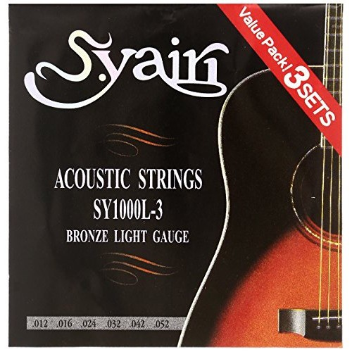 S.Yairi アコースティックギター弦 SY-1000L-3 3...