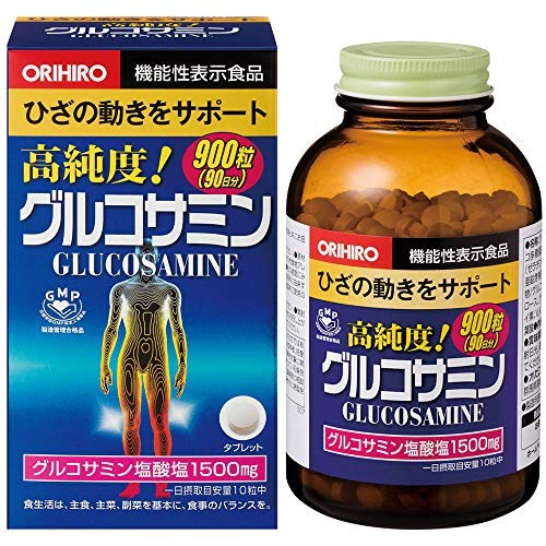 オリヒロ 高純度 グルコサミン 徳用 900粒(90日分...