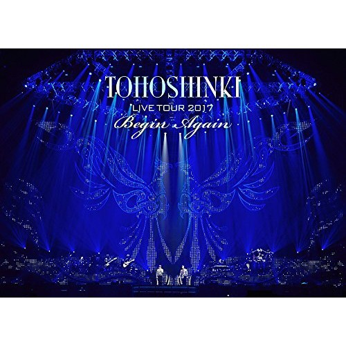 東方神起 LIVE TOUR 2017 ~Begin Again~(DVD3枚組...