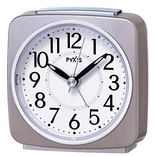 セイコー クロック 目覚まし時計 アナログ PYXIS ...