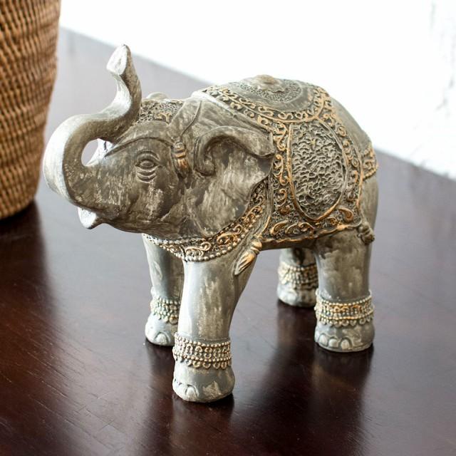 象のオブジェ (66584) オブジェ 象 ぞう 動物 ア...