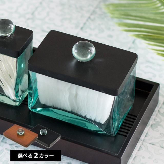 2色 ガラスケース フタ セット ウッド ガラス 取...