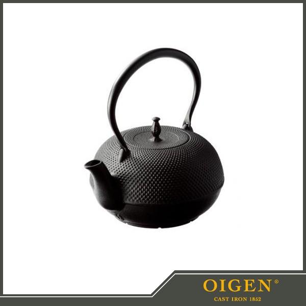 《及源鋳造(OIGEN)》南部鉄器 盛栄堂 鉄瓶 観月ア...