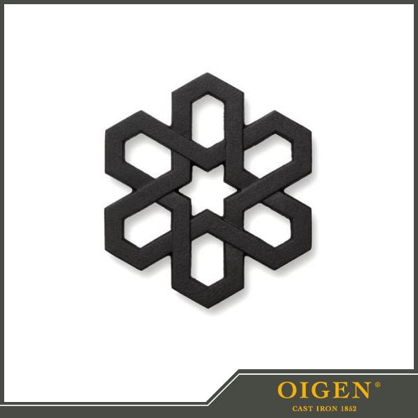 《及源鋳造(OIGEN)》南部鉄器 盛栄堂 瓶敷 トリベ...