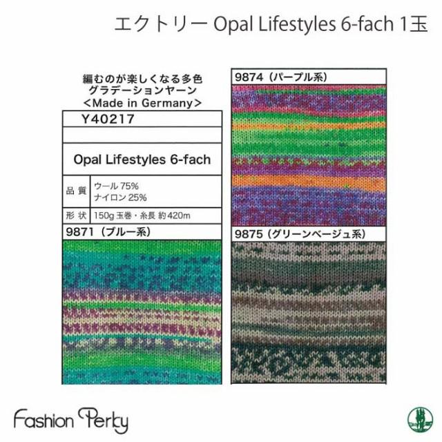 毛糸 中細 エクトリー毛糸 Y40217 Y40217 Opal Li...