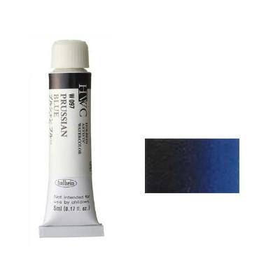 ホルベイン 透明水彩絵具2号(5ml)W097 青色 プ...