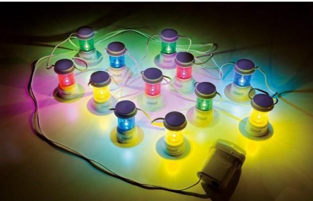 コールマン ライト LEDストリングフェスライト 20...