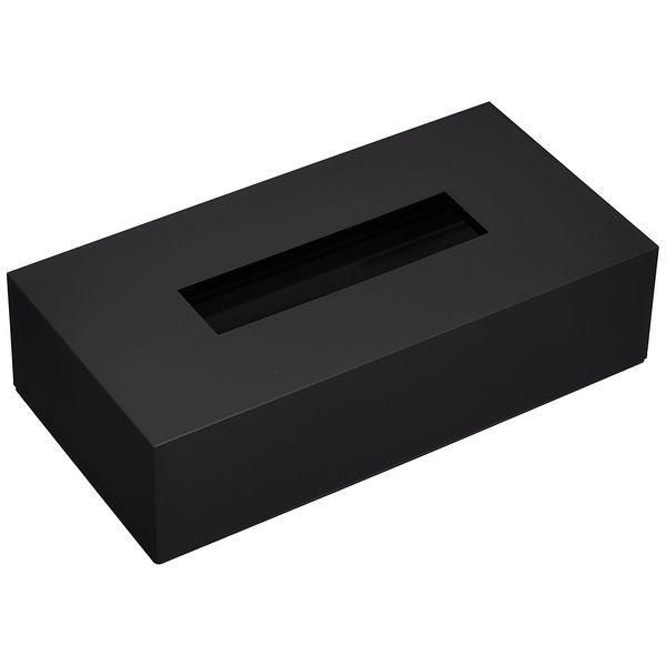 タツクラフト ティッシュBOXカラー ブラック シン...