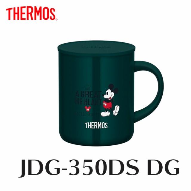 サーモス 真空断熱マグカップ JDG-350DS DG ダー...