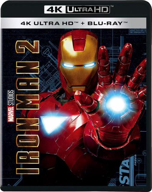 アイアンマン2 4K UHD [4K ULTRA HD+ブルーレイ] ...