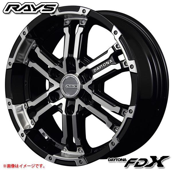 レイズ デイトナ FDX DK 8.0-17 ホイール1本 DAYT...