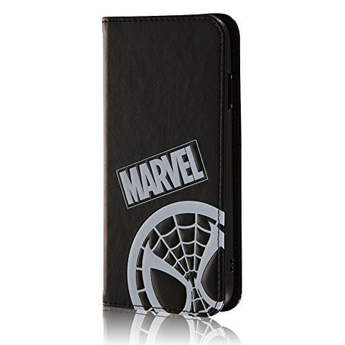 iPhone7ケース スパイダーマン マーベル 手帳型レ...