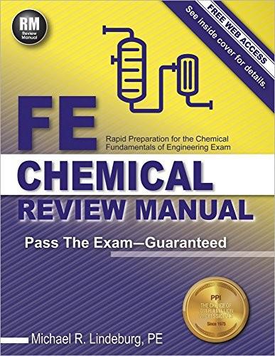Fe Chemical Review Manual ペーパーバック May 0...