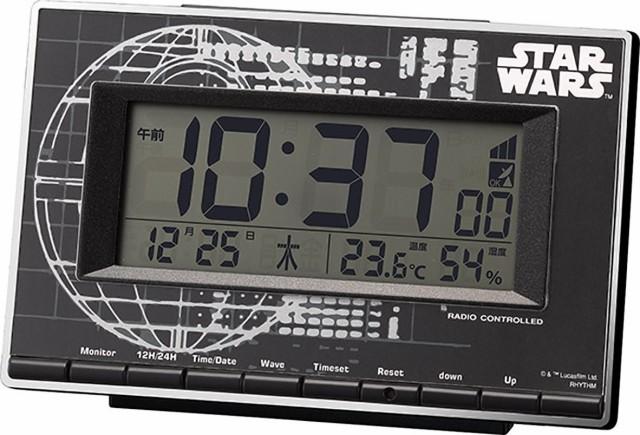 スターウォーズ 目覚し時計 電波 デジタル ローグ...