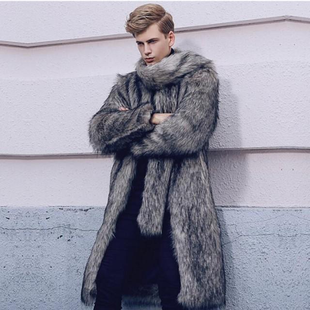 美品 かっこいい 毛皮コート 人気 上質 コート 上...