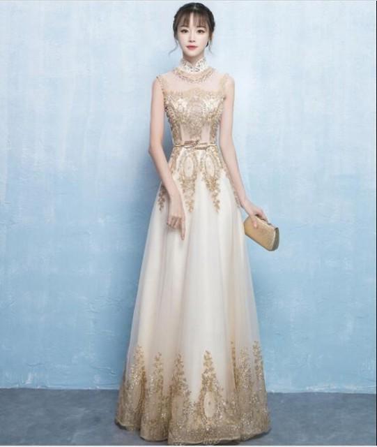 ウェディングドレス 結婚式 二次会 大きいサイズ ...