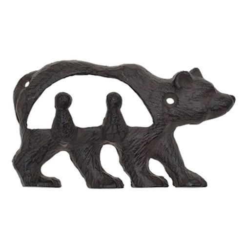 アンティークフック クマ 熊 [1個入 X 3 計...